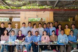 Dự án nâng cao năng lực ngành rau hoa quả tại Miền Bắc và Miền Trung Việt Nam